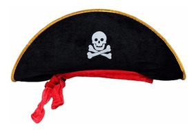 compra original super calidad buena textura 50 Sombreros Pirata Disfraz Fiesta Pirata Halloween Batucada