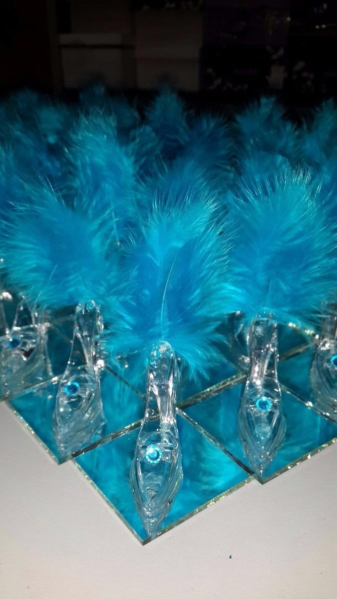 50 souvenirs 15 años zapatito+espejos-plumas para arma. Cargando zoom. 2056c60b87aa