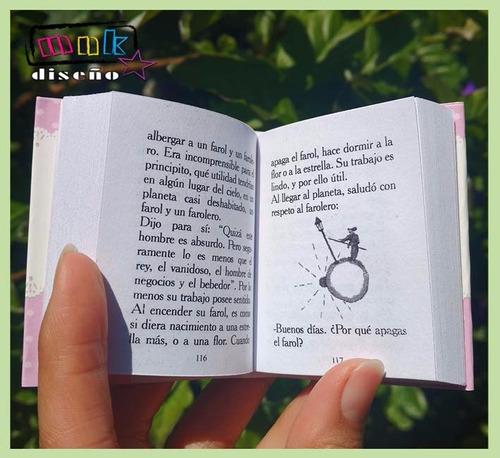 50 souvenirs libritos personalizados el principito