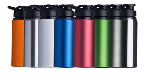 50 squeeze alumínio metal 600 ml personalizado 2 lados
