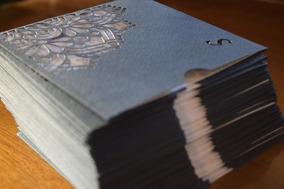 50 Tarjetas 15 Años Quince Mandala Invitación Sobre Calado