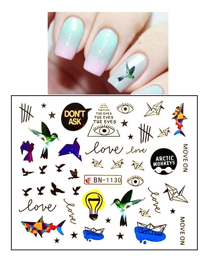 50 Tatuajes Para Uñas Tu Los Eliges Tenemosde Mil Modelos