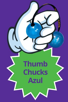 50 thumb chucks lançamento ioio de dedo novo spiner bate