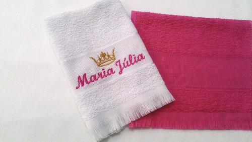 50 toalhinhas c nome p/ festa de debutante; kit