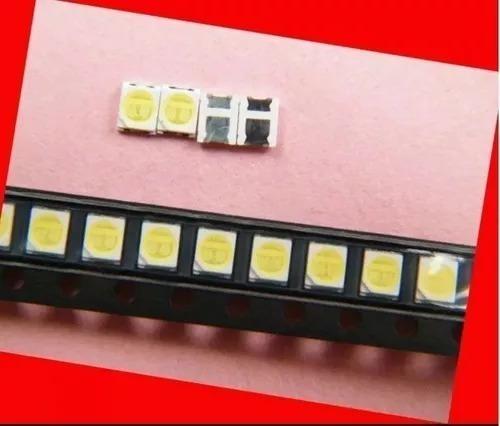 50 un led 6v para tv philco ph40r86dsgw barra com 5 led