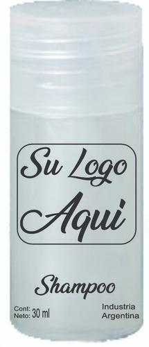 50 unid shampoo o  acondiccionador hotelero x 30 ml