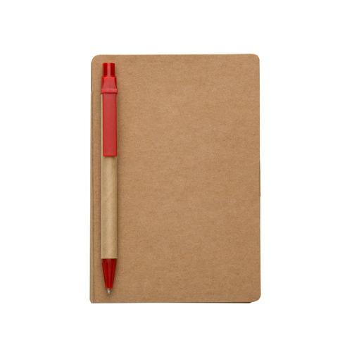 50 unidades bloco de anotações ecológico com caneta