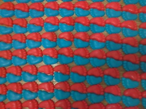 50 unidades pezão sabonete artesanato lembrancinhas batizado