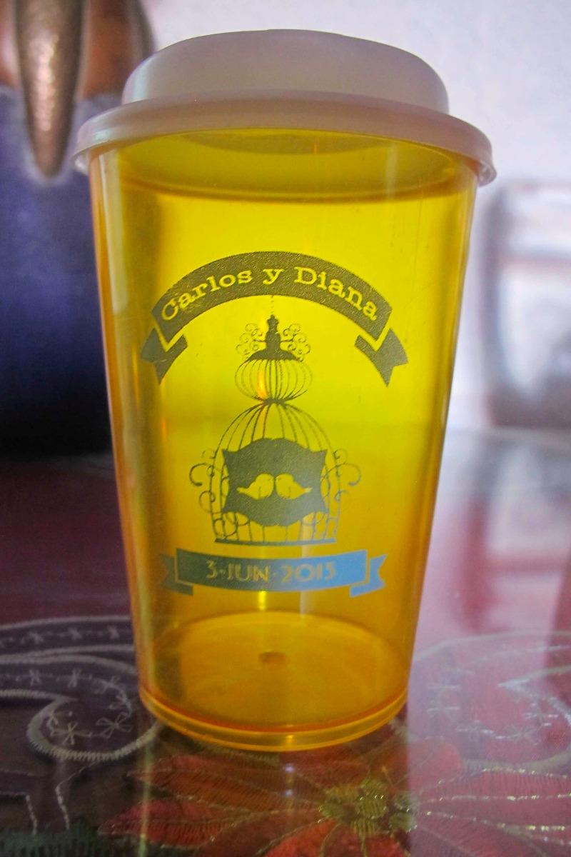 50 vasos personalizados pl stico promocionales boda etc en mercado libre - Vasos personalizados ...