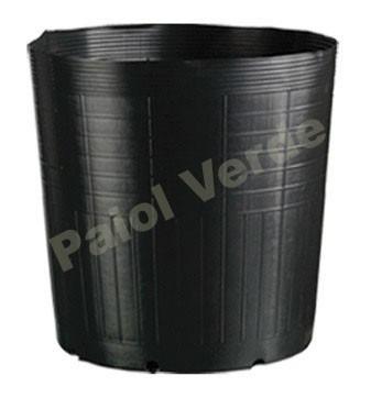 50 vasos pote preto para mudas plantas plastico 9 litros