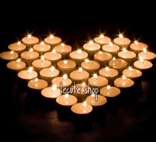 50 velas flotantes decoracion adorno fiesta boda tea light