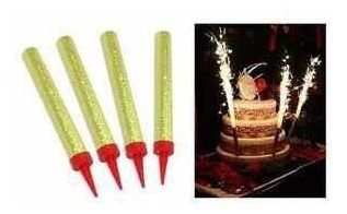 50 velas pastel 12cm grande para pastel cumpleaños chispero