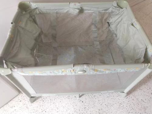 50 verdes gracco pack cuna corral bebé unisex en caja