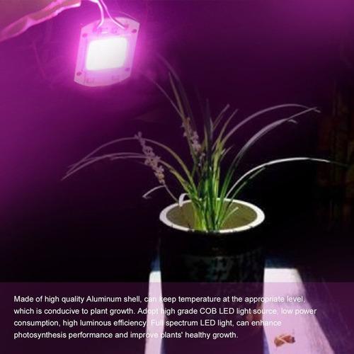 50 w led crescer luzes espectro completo levou cob planta in