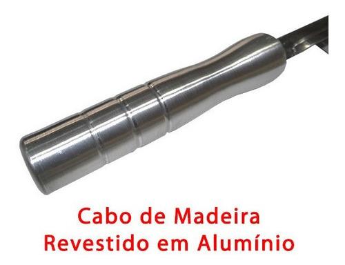 50 x 30 cm grelha churrasco parilha argentina inox + brinde
