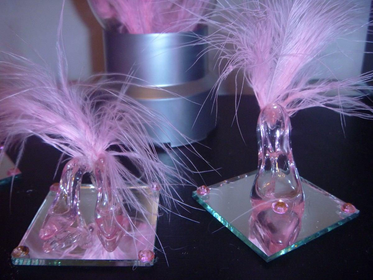 50 zapatito cristal 15 para armar souvenirs de 6.5cm. Cargando zoom. 255d92347042