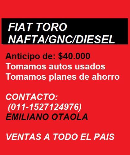 500 0km de fiat - ventas a todo el país - cuotas fijas - 4