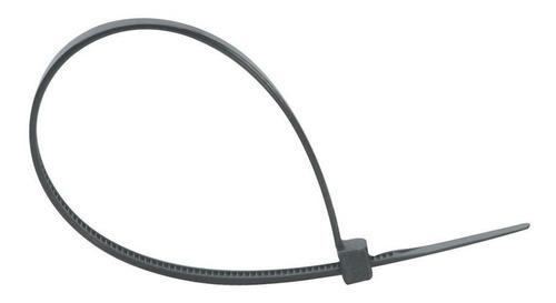 500 abraçadeira nylon enforca gato preto 3,6mm x 200mm 20cm