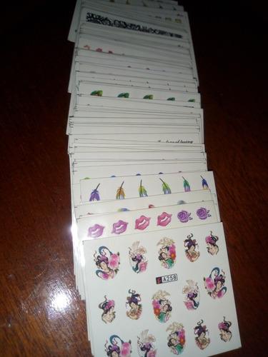 500 adesivos de unhas. para revender !!! frete gratis !!!