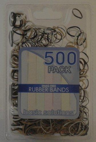 500 bandas paquete de goma - gancho libre (brown)