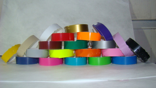 500 brazaletes pulseras de tyvek brazalete