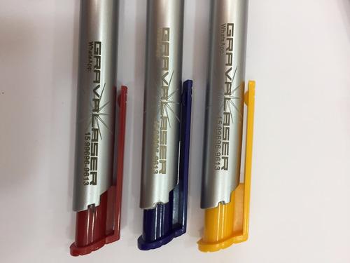 500 caneta plastica brinde personalizada à laser barato logo