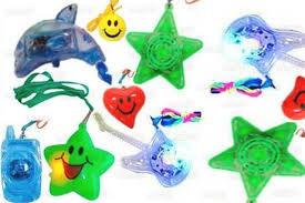 500 colares pisca ( coração, estrela, lua/estrela, etc )