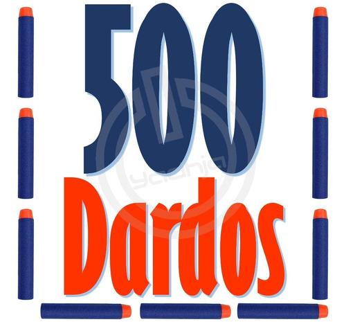500 dardos de repuesto compatibles para nerf n-strike elite
