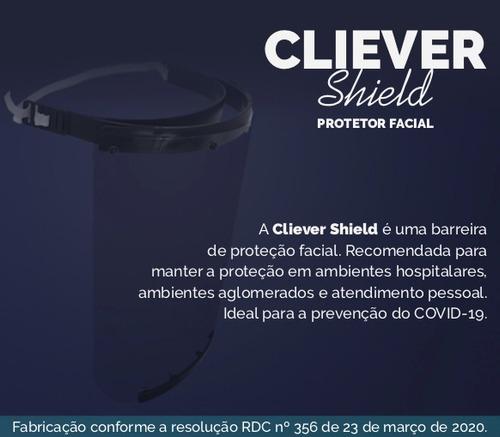 500 face shield - protetor facial impresso em 3d - epi