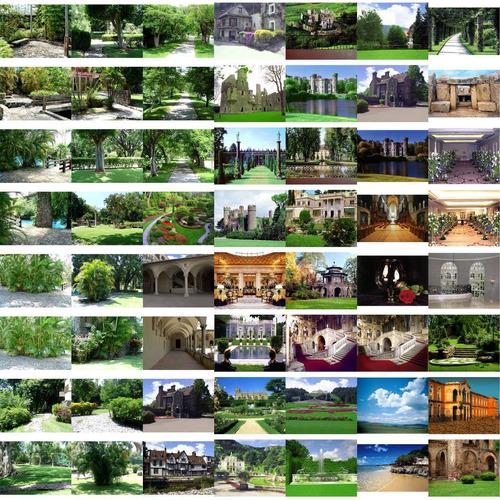 500 fondos digitales photoshop fotomontajes int / ext