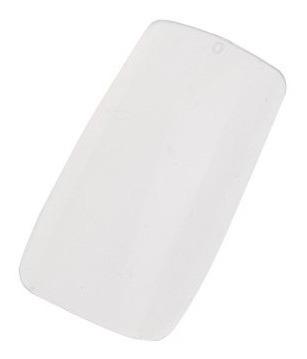 500 full cover uñas falsas, transparente