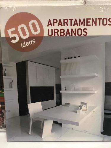 500 ideas apartamentos urbanos - konemann- decoración -
