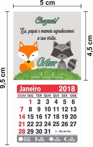 500 imas de geladeira personalizados com calendário 2019
