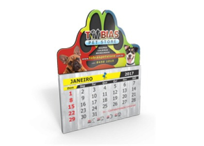 c248da833 500 Ímãs De Geladeira C  Calendário 2019 C  Corte Especial - R  250 ...