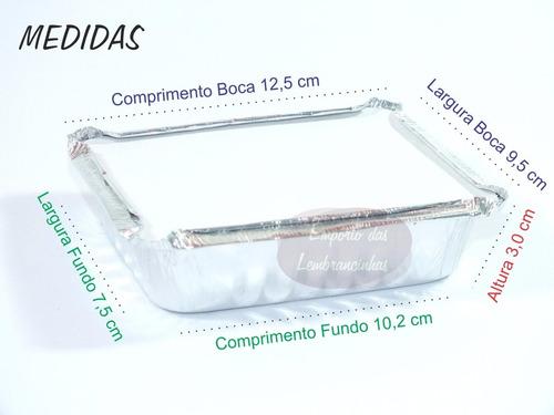 500 marmitinhas + 500 latinhas plásticas + 500 tubetes 13 cm