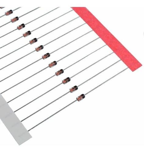 500 peças - diodo de sinal 1n4148 fitado original