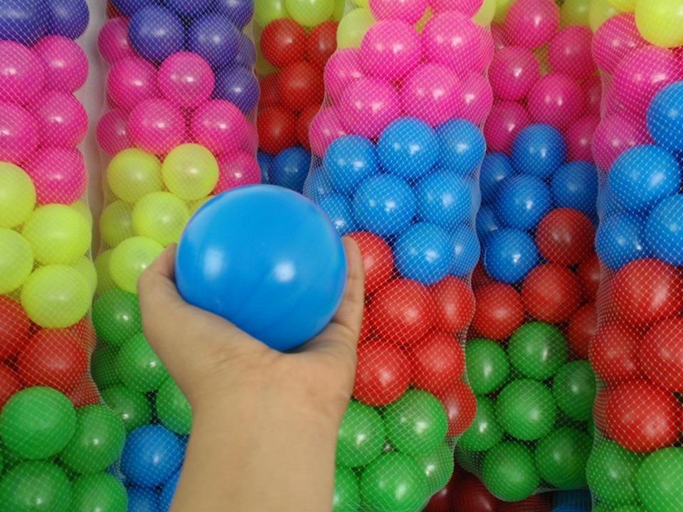 piscina de plastico para pelotas