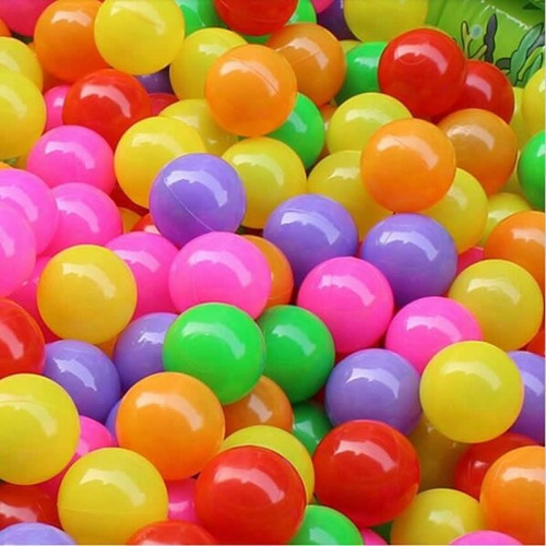 500 pelotas de piscina bulto 500 unidades colores infladas
