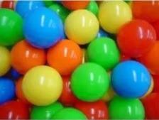 500 pelotas de plástico para alberca de pelotas