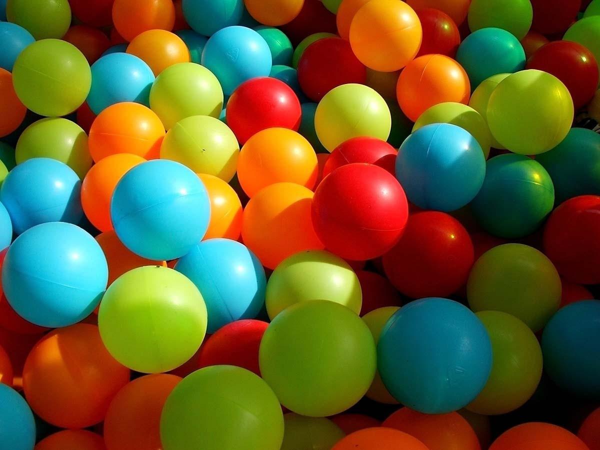 500 pelotas piscina selladas mas gruesa y resistente for Pelotas para piscina