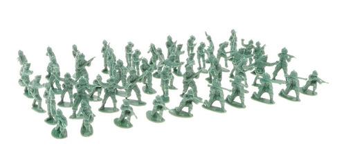 500 piezas 2 cm soldado juguete plástico figurs ejército h