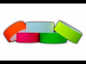 22bf1c4a3248 500 Piezas De Pulseras Tyvek Variedad De Colores