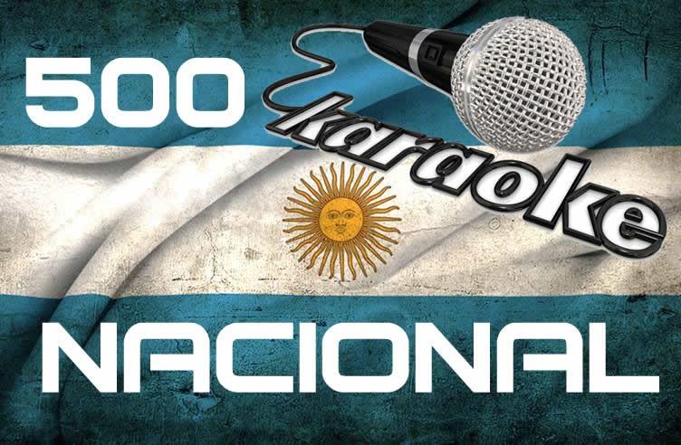 500 Pistas Karaokes Nacional En Dvds Envio A Todo El Pais