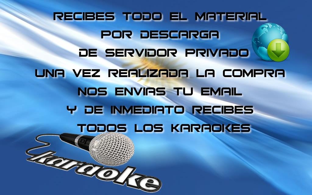 500 Pistas Karaokes Nacional Envio Digital Inmediato