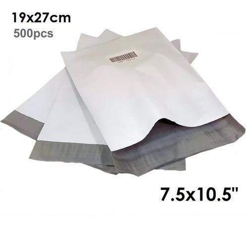 500 poly sobres para envíos correo con adhesivo tamaño mediano