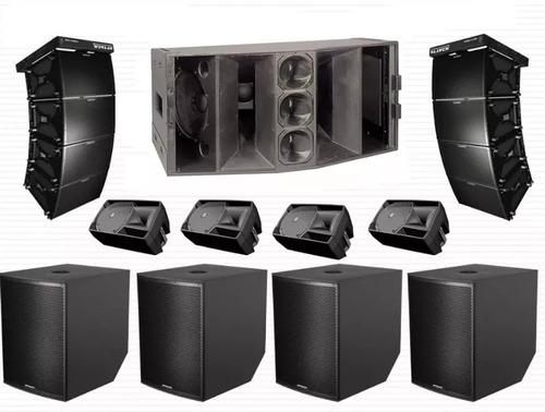 500 projetos de caixas de som + line array - envio imediato