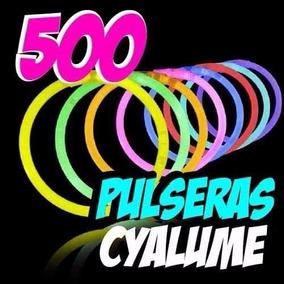 87ee2643aec6 500 Pulseras Luminosas, Neon, Batucada, Boda, Vx Años