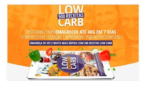 500 receitas lowcarb que vão destruir a gordura