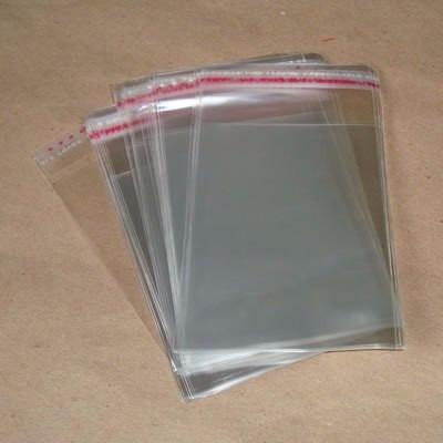 500 sacos plásticos para dvd (com lacre)