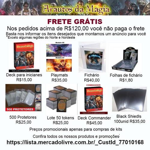 500 sleeves shields magic pokemon battle scenes frete gratis